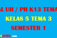 Soal UH Kelas 5 Tema 3