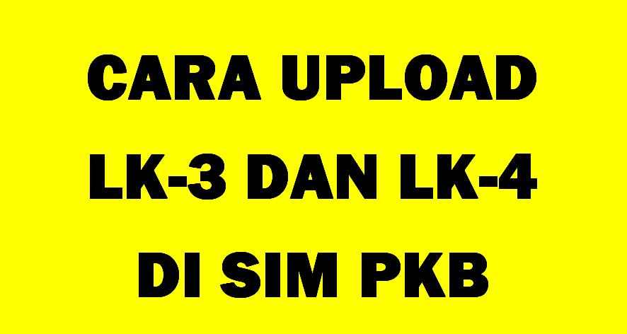 Upload Tugas PKP di SIM PKB