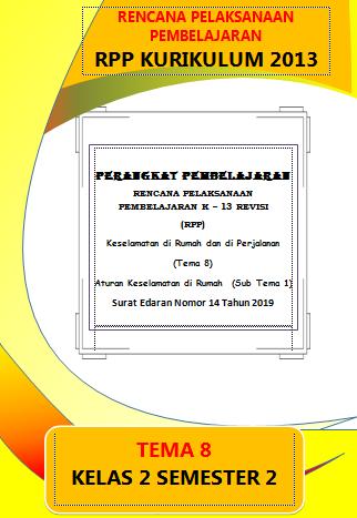RPP 1 Halaman Kelas 2 Tema 8