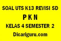 Soal UTS PKN Tengah Semester 2 Kelas 4 SD