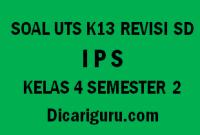 Soal UTS IPS Tengah Semester 2 Kelas 4 SD