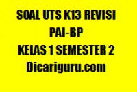 Kumpulan Soal UTS PAI Kelas 1 Semester 2 2020/2021