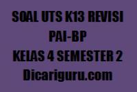 Kumpulan Soal UTS PAI Kelas 4 Semester 2 2020/2021