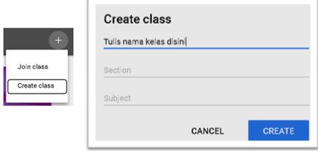 Membuat Kelas google classroom