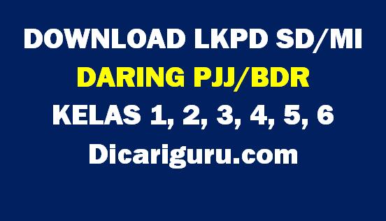 Download LKS Daring Kelas 1,2,3,4,5 dan 6