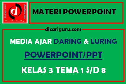 Download Materi Powerpoint Kelas 3 Tematik