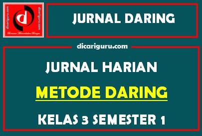 Jurnal Daring Kelas 3 Kurikulum 2013