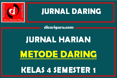 Jurnal Daring Kelas 4 Kurikulum 2013