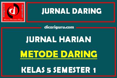 Jurnal Daring Kelas 5 Kurikulum 2013