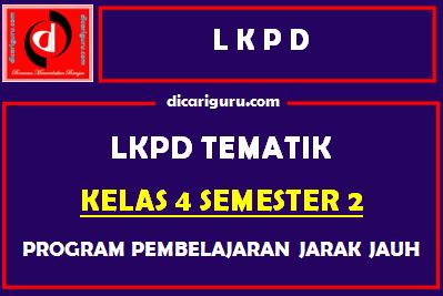 LKPD Kelas 4 Semester 2 Tahun 2021
