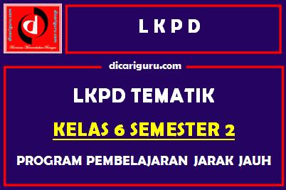 LKPD Kelas 6 Semester 2 Tahun 2021