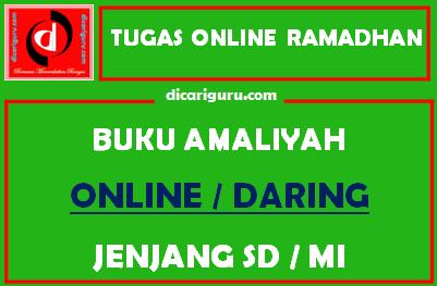 Tugas Online Siswa di Bulan Ramadhan SD