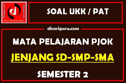 Kumpulan Soal UKK / PAT PJOK Semester 2 SD, SMP dan SMA