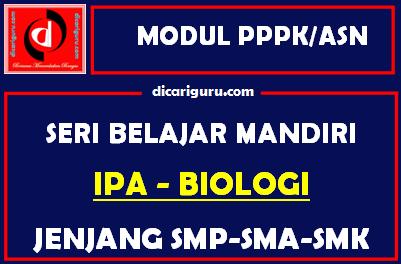 Download Modul PPPK / ASN IPA Biologi
