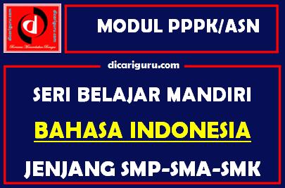 Download Modul PPPK / ASN Bahasa Indonesia