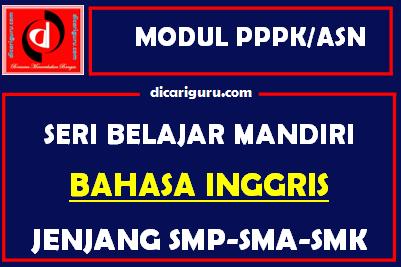 Download Modul PPPK / ASN Bahasa Inggris
