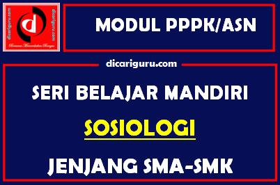Download Modul PPPK / ASN Sosiologi
