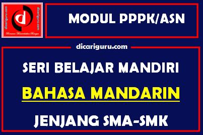 Download Modul PPPK / ASN Bahasa Mandarin
