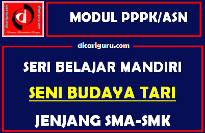 Download Modul PPPK / ASN Seni Budaya Tari