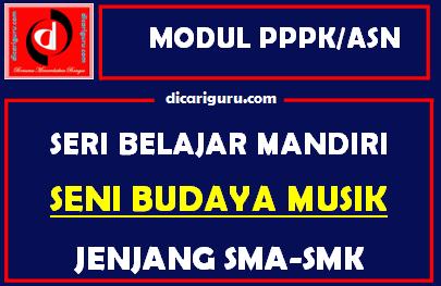Download Modul PPPK / ASN Seni Budaya Musik