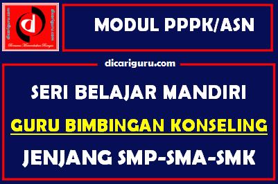 Download Modul PPPK / ASN Bimbingan Konseling (BK)
