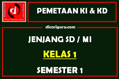 Download Pemetaan KI dan KD Kelas 1 Terbaru Untuk Semester 1