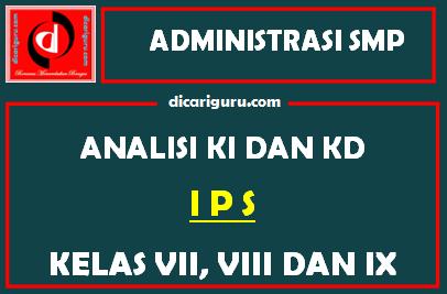 Analisis KI dan KD IPS SMP