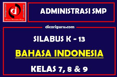 Silabus Bahasa Indonesia SMP