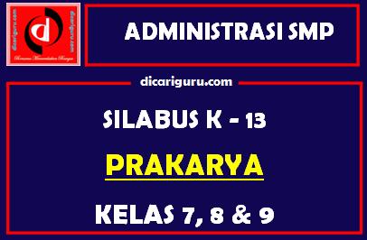 Silabus Prakarya SMP