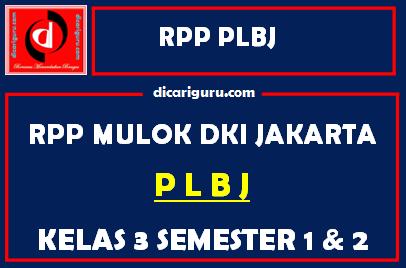 RPP PLBJ Kelas 3
