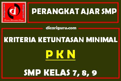 KKM PKN SMP