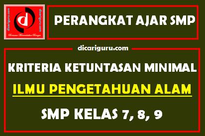 KKM IPA SMP
