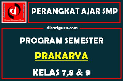 Promes Prakarya SMP